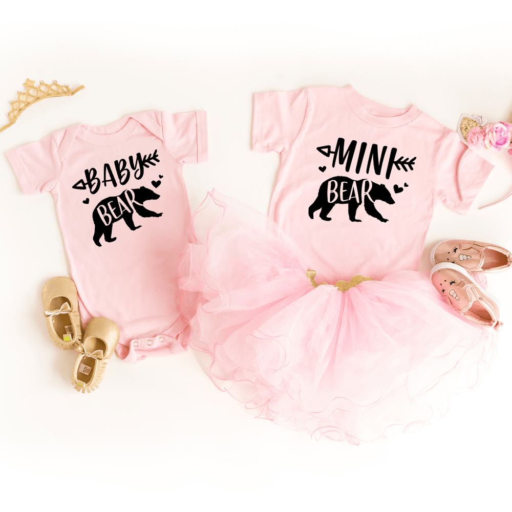 Mama Bear Baby Bear Papa Bear Matching Shirts, Mommy and Me Shirts Outfits, Matching Mommy and Me Shirts, Matching Family Shirts