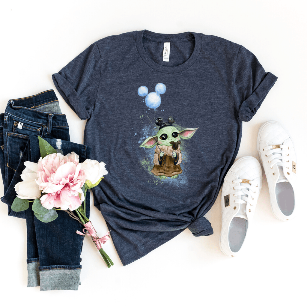 Disney Shirts Star Wars Mandalorian Child, Baby Yoda, Galaxy Edge Shirt, Boba Fett shirt