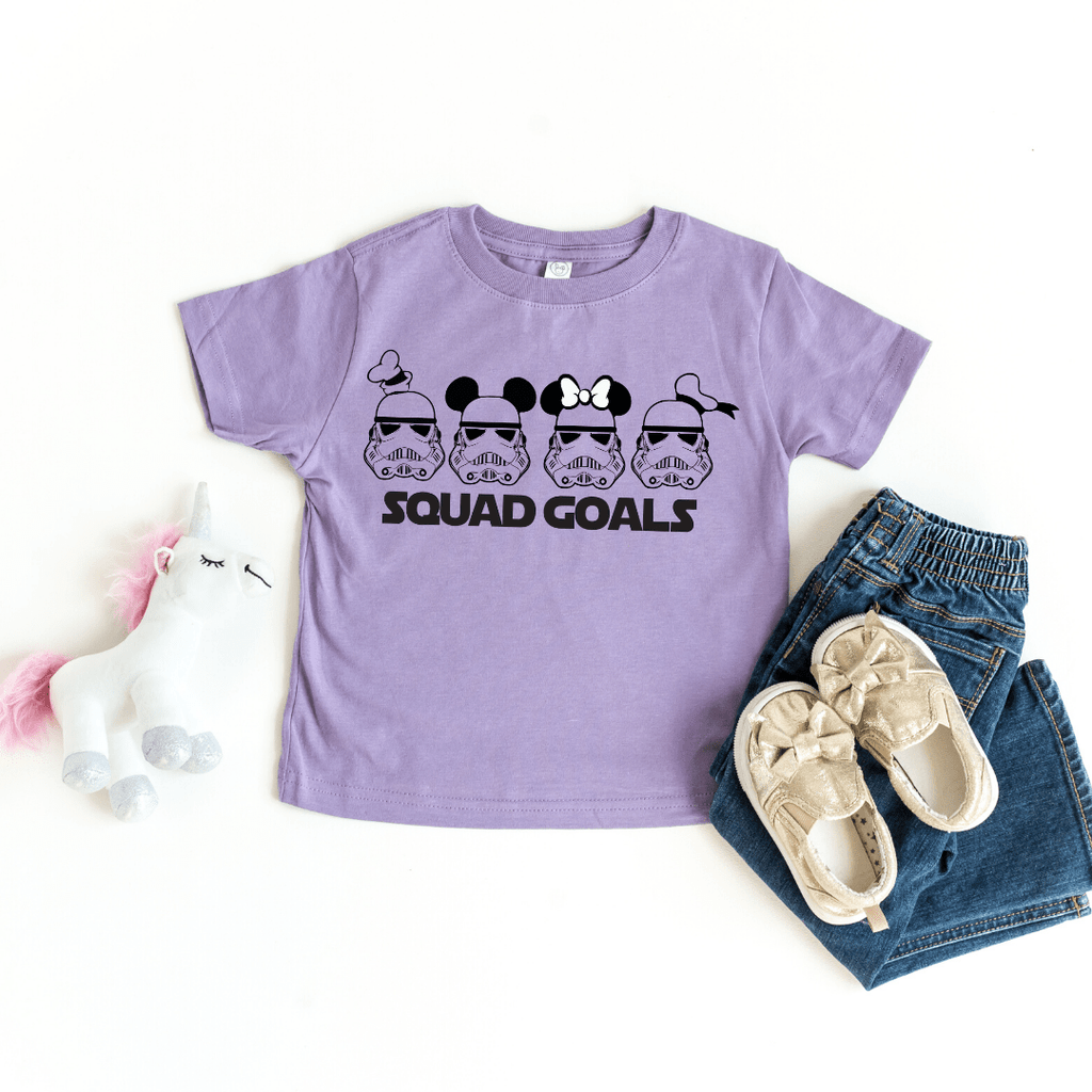 Star Wars Squad Goals Shirt, Star Wars Shirts, Family Star Wars Shirts, Jedi Squad Shirts, Family Disney T-shirt, Matching Family Disney