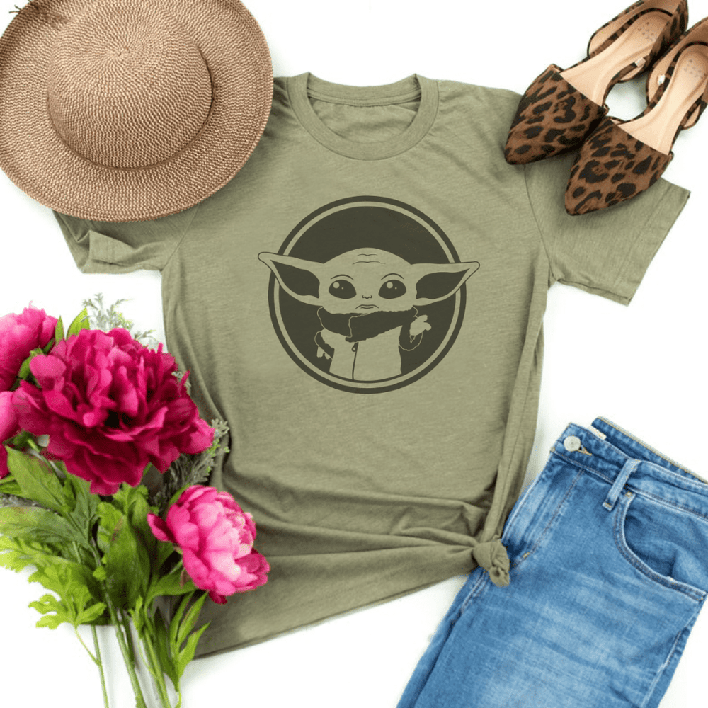 Baby Yoda shirts Start Wars Mandalorian The Child t shirt Baby Yoda Disney shirt Baby Yoda Apparel Baby Yoda clothing