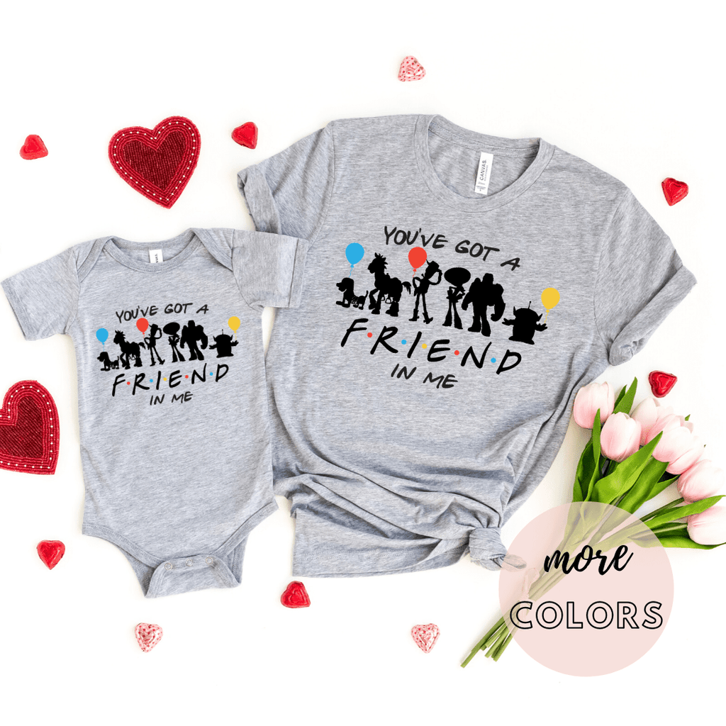 You've got a friend in me Toy Story Family Shirt Toddler & Baby