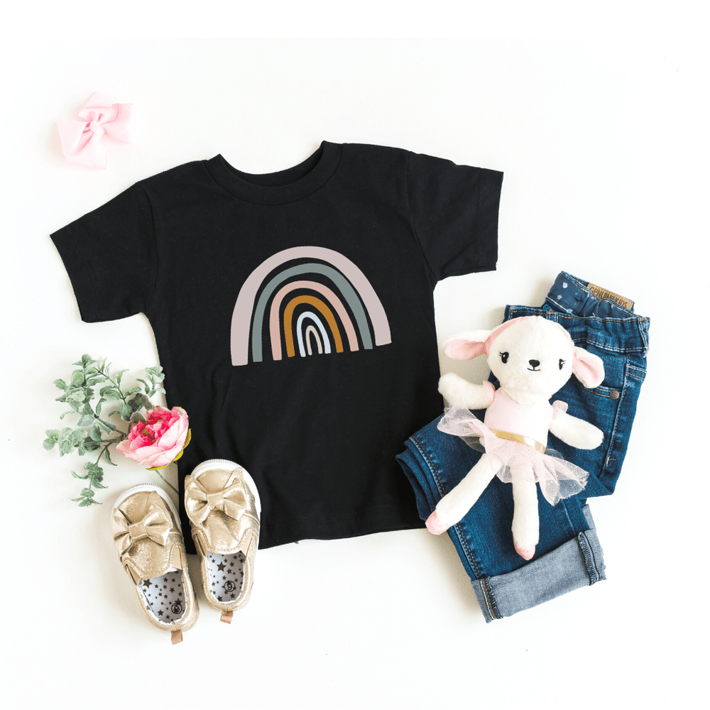 Mommy and Me Rainbow Shirts, Mother Daughter Matching Shirts, Mommy and Me Outfit, Rainbow Toddler Tee, Rainbow Baby Bodysuit