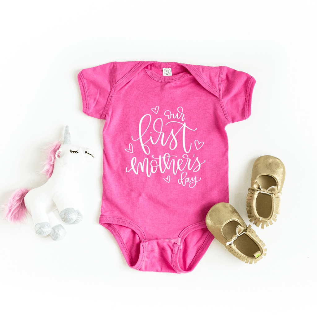 Mother's day gift for wife Mom, Our first mothers day, First mothers day gift, matching mom and baby, family shirts, Mothers day 2020