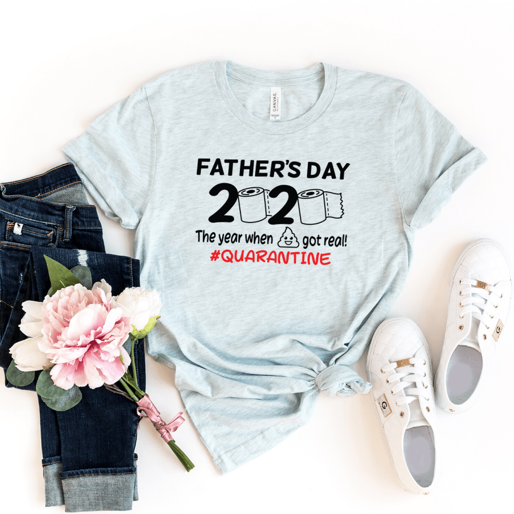 Fathers Day 2020 Shirt Quarantined Fathers Day Shirt The one Where I was Quarantined Fathers Day Shirt Fathers Day Tees Fathers Day Gift