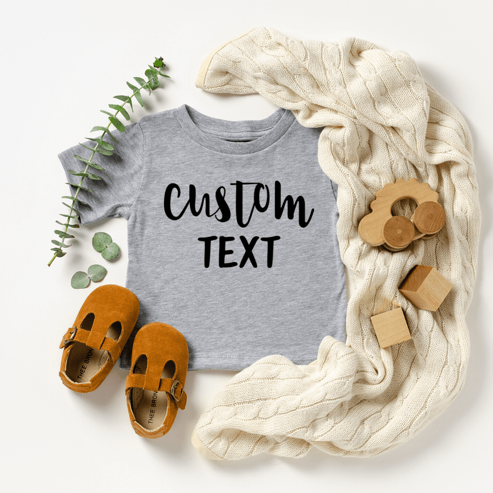 Custom Shirt, Custom Shirts, Custom T-shirt, Personalized T-shirt, Family T-shirt, Family Shirt, Personalized Shirt, Matching Family Shirt, Light Gray