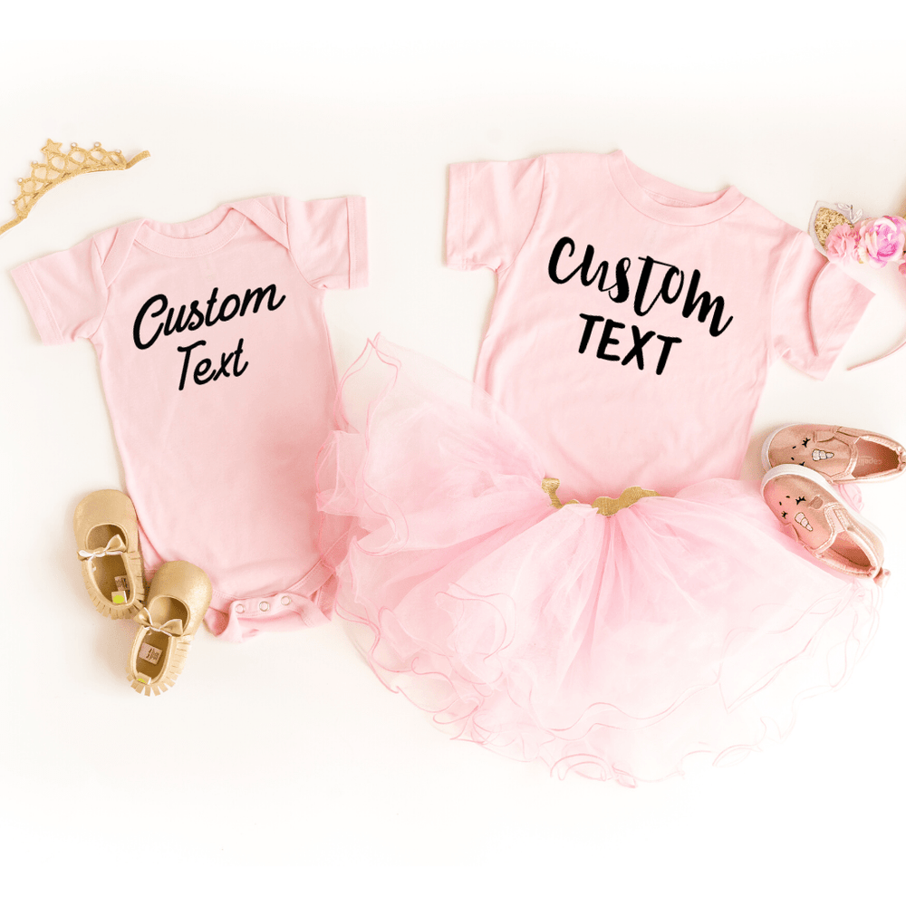 Custom Shirt, Custom Shirts, Custom T-shirt, Personalized T-shirt, Family T-shirt, Family Shirt, Personalized Shirt, Matching Family Shirt, Pink