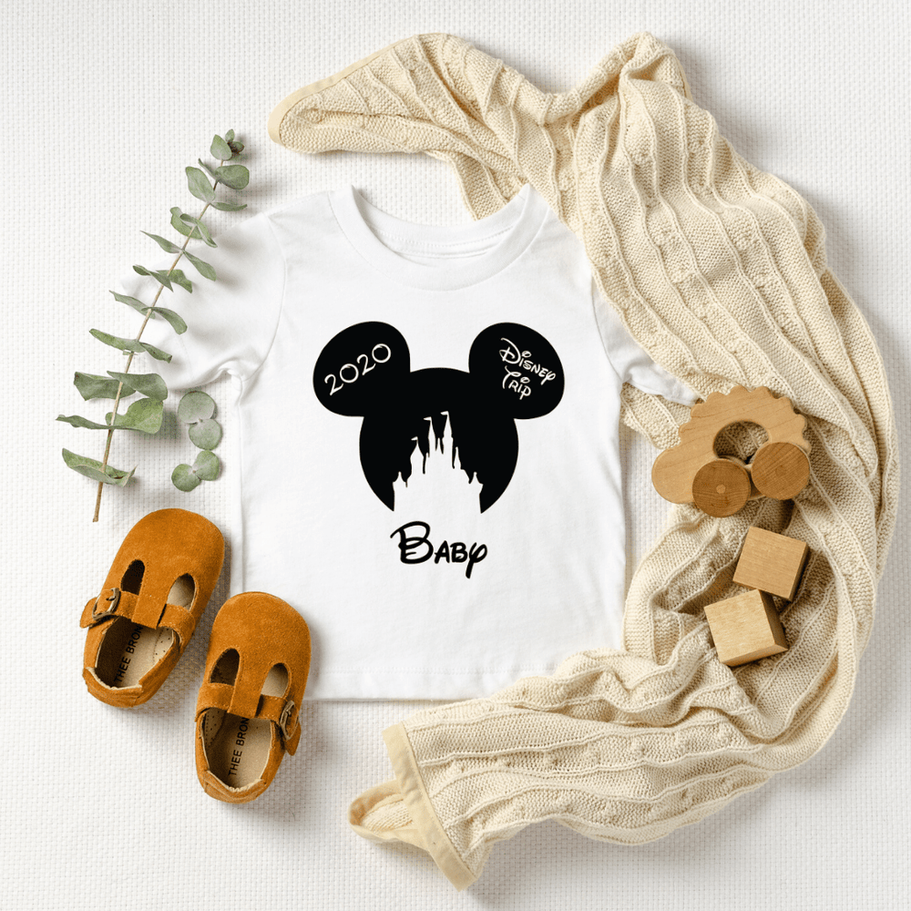 Disney Shirts 2020, Disney Ear Shirts, Disney Castle Shirt, Disney Minnie Mickey Shirt, Minnie Me Shirt, Family Trip Matching Outfit, Custom