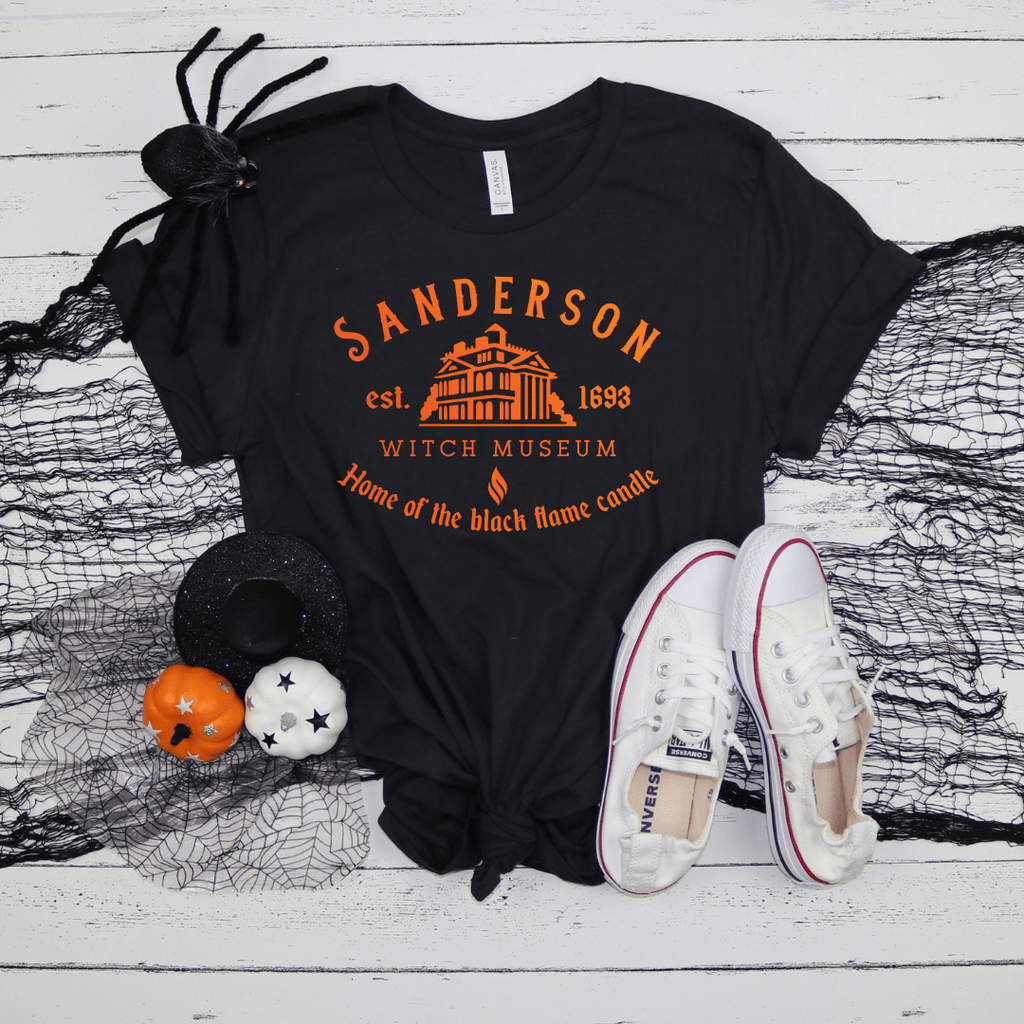 Sanderson Witch Shirt, Funny Halloween shirt, Sanderson Sisters, Sanderson Museum, Halloween Witches, Hocus Pocus Shirt, Black Heather