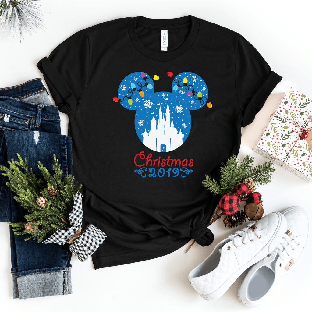 Matching Christmas 2019 Shirts, Family Disney Christmas Shirt, Family Christmas gift, Disney Christmas Outfit, Mickey Minnie Christmas Shirt
