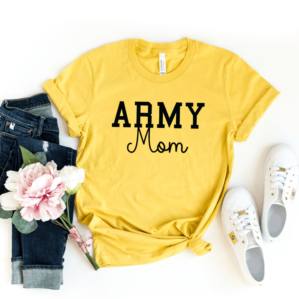 Army Mom Shirt, Military Mom Shirt, Mothers Day Gift, Army Mom Tee, Army Mom T-Shirt, Navy Mom Shirt, Marine Mom, Gift for Mom, Enlistment