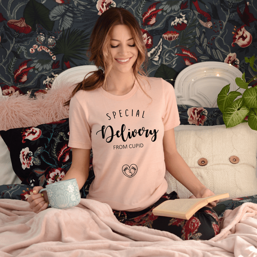 Pregnancy announcement Shirt, Special Delivery from Cupid, You can call me Cupid, Mom Shirt, Baby Shower, Maternity Shirts, Funny Pregnancy, Preggers Top, Gift for Her, Pregnancy Gift, Motherhood