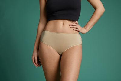 Hipster Panty- Beige