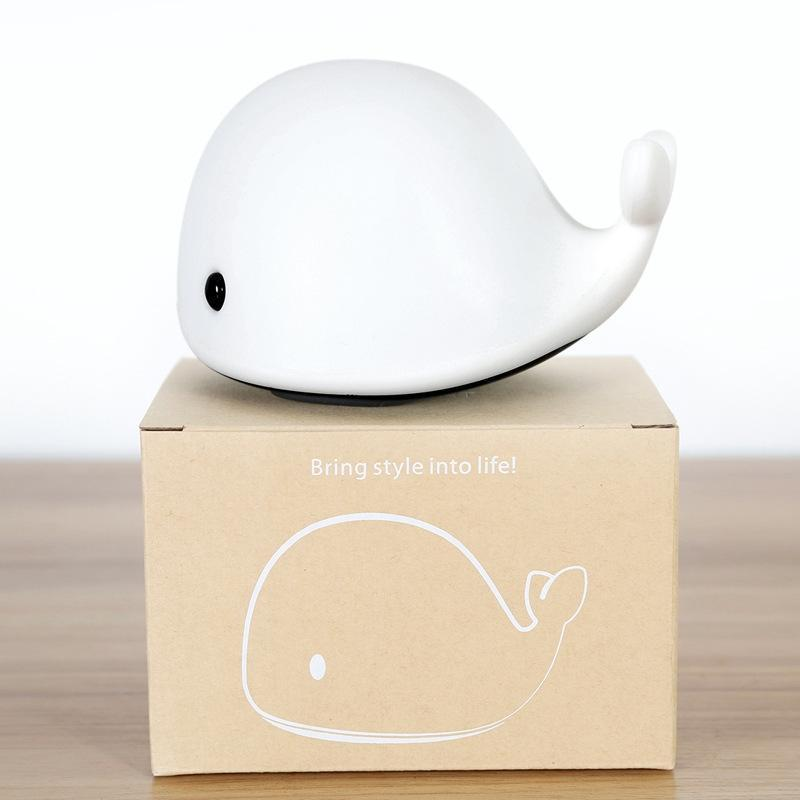 Tiny Whale Bedside Lamp