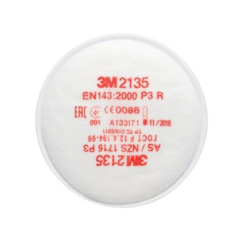 3M P3 Replacement Particulate Twin Filters - 2135