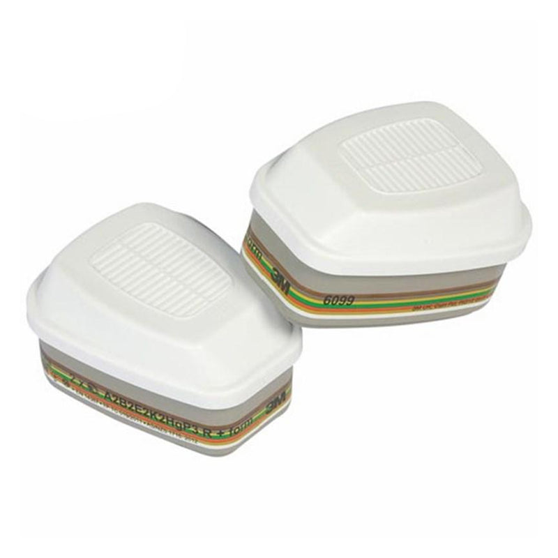 3M ABEK2P3 Replacement Gas, Vapour and Particulate Twin Filters - 6099