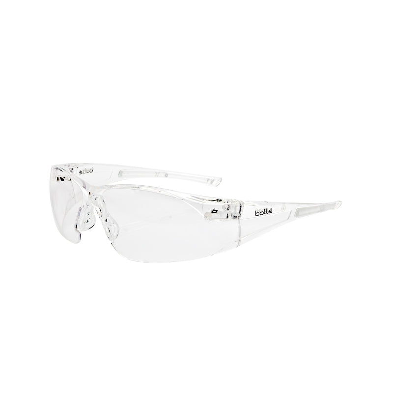 Bollé Safety Rush AS/AF Safety Spectacles - Clear Lens