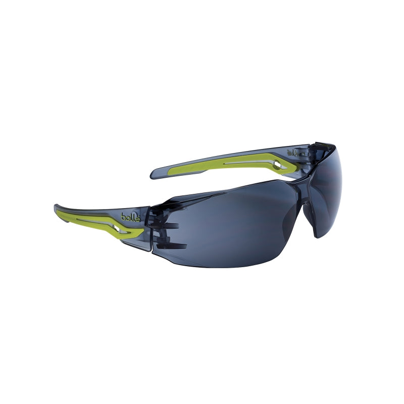 Bollé Safety Silex Safety AS/AF Spectacles - Smoke Lens