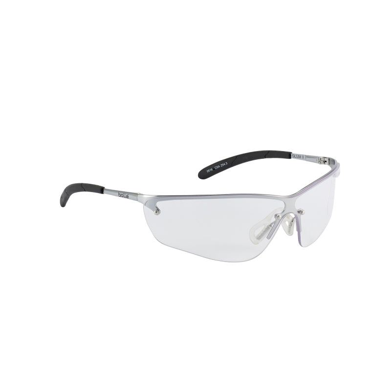 Bollé Safety Silium Safety AS/AF Spectacles - Clear Lens