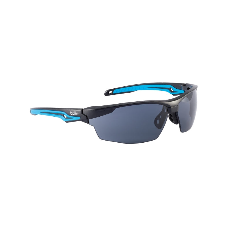 Bollé Safety Tryon Safety AS/AF Spectacles - Smoke Lens