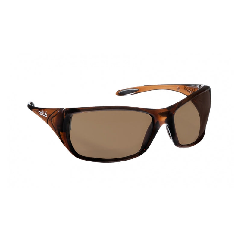Bollé Safety Voodoo Safety AS/AF Spectacles - Brown Lens