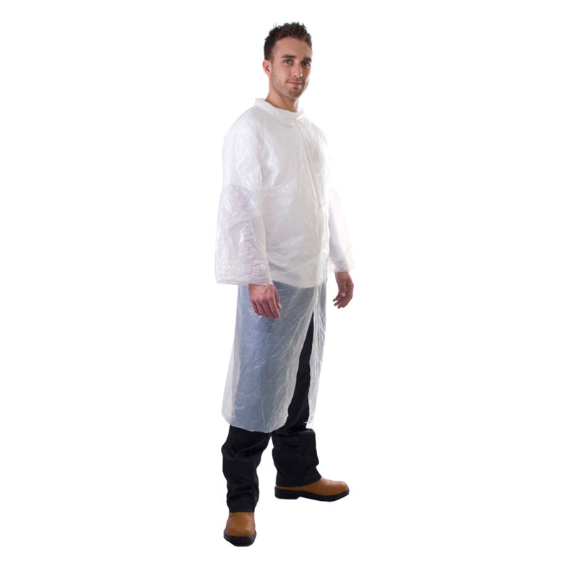 PE Visitors Disposable Coat