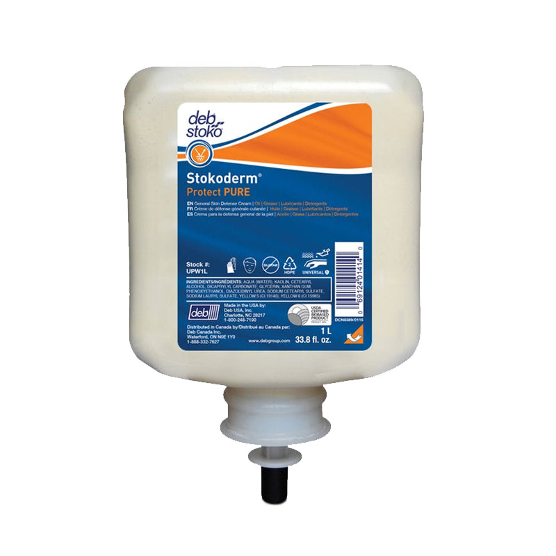 Stokoderm® Protect Pure Skin Protection Cream - 1l Cartridge