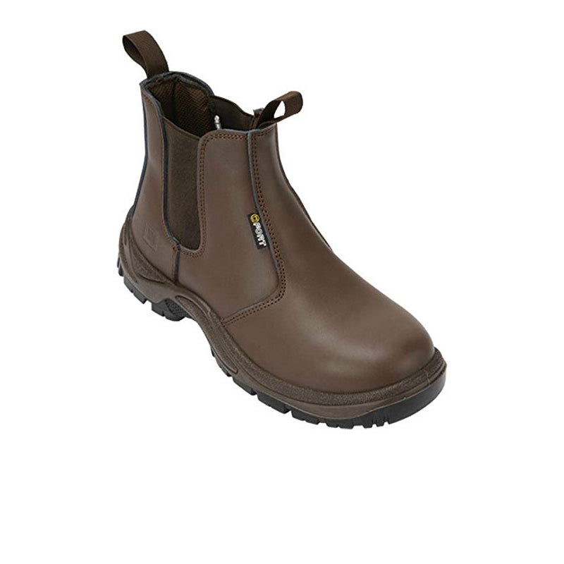 Safety Dealer Boots - Brown S1P SRC