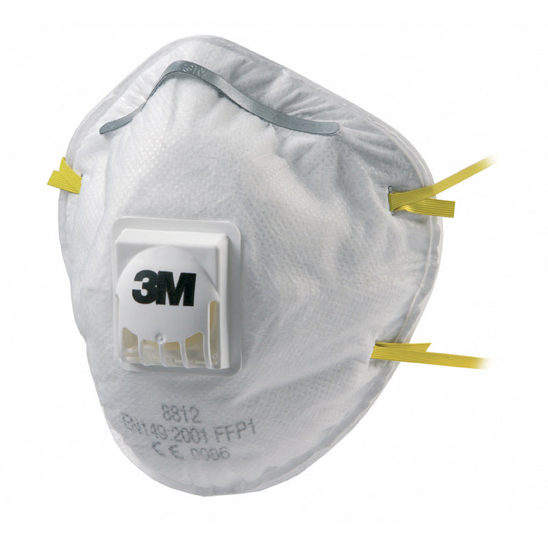 3M Particulate Respirator 8812 Valved