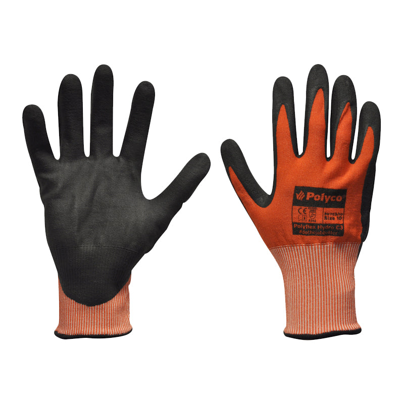 Polyco Polyflex Hydro C3 PHYC3 Work Safety Gloves