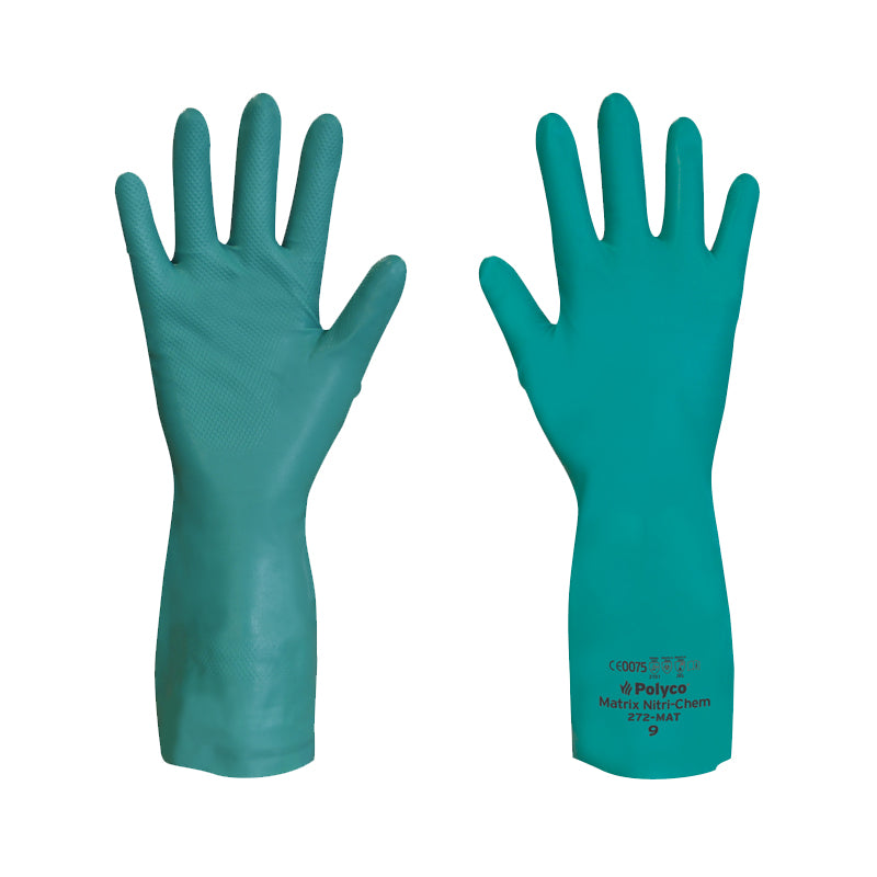 Polyco Matrix® Nitri-Chem Chemical Resistant Gloves