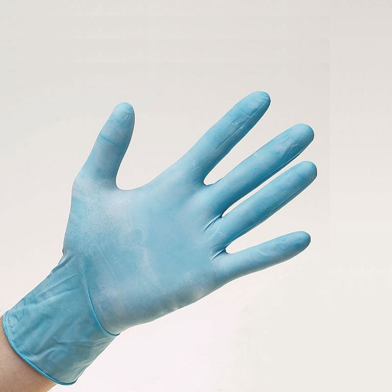 Warrior Blue Powder Free Nitrile Gloves - Pack of 100