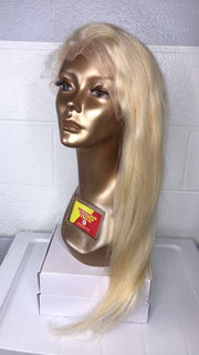 Mariah Alanna - 613 Blonde Straight Lace Frontal Easy-Install Wig, 150% Density, Shop Now, Pay Later.