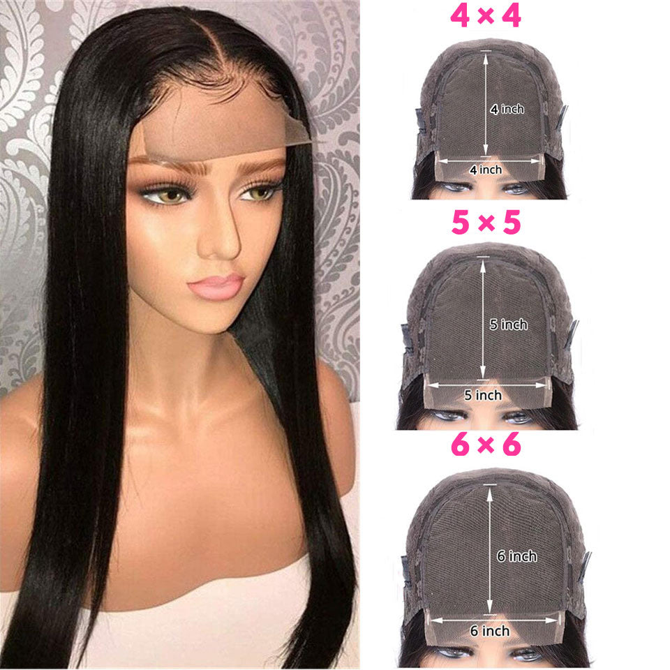 6x6 Closure Wig - Straight Closure Wig. Affordable Lace Wig. Fast Shipping. Shop Now. Pay Later! Can Be Worn Glue-Less.
