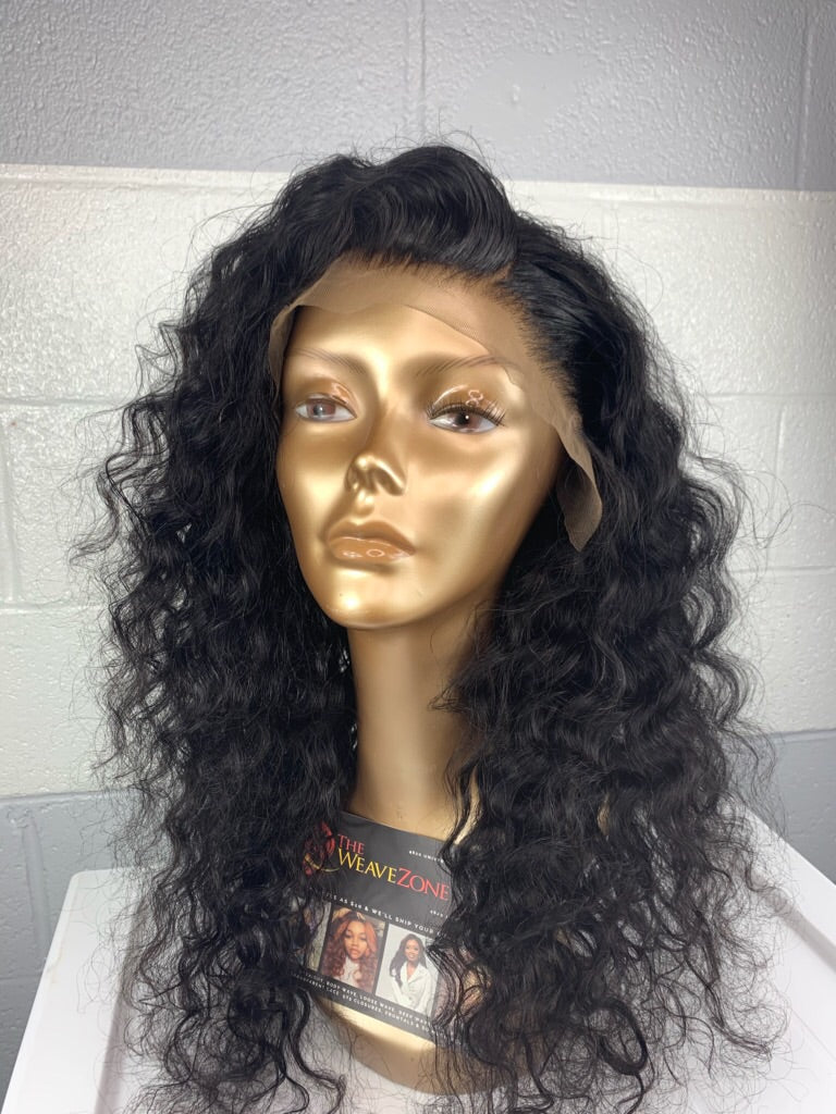 Toni Danaé - HD Easy-Install Lace Frontal Loose Wave Wig With Adjustable Band 150% Density