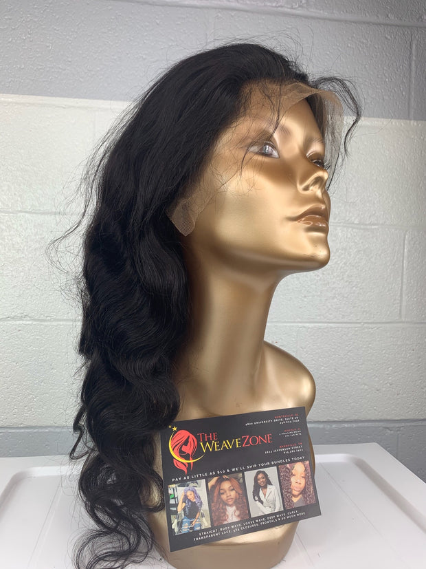 Sabrina Dymond - Easy-Install Body Wave Lace Frontal Wig. 150% Density.