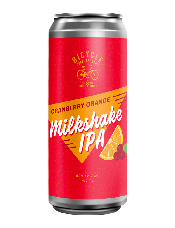 Cranberry Orange Milkshake IPA