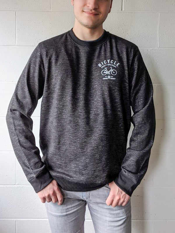 Bicycle Crewneck Black Heather
