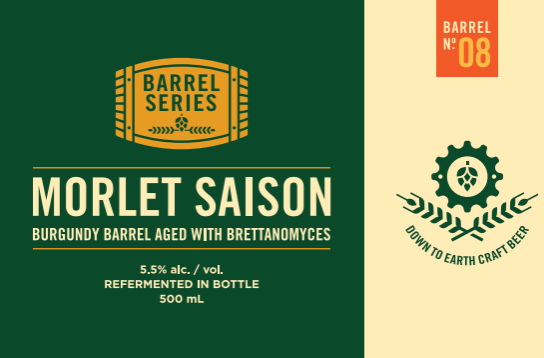 Barrel series #8 - Morlet Saison with Brettanomyces