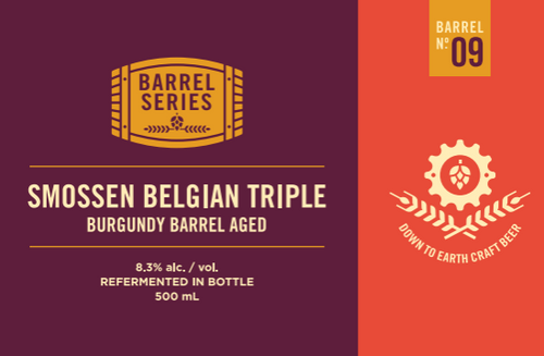 Barrel Series #9 - Smossen Belgian Triple