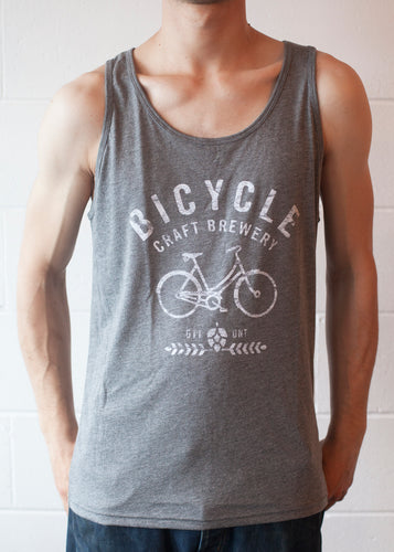 Grey Bicycle Tank Top