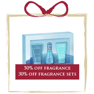 50% off all fragrance