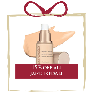 15% off all Jane Iredale