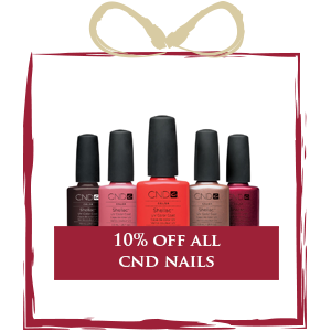 10% off all CND Nails