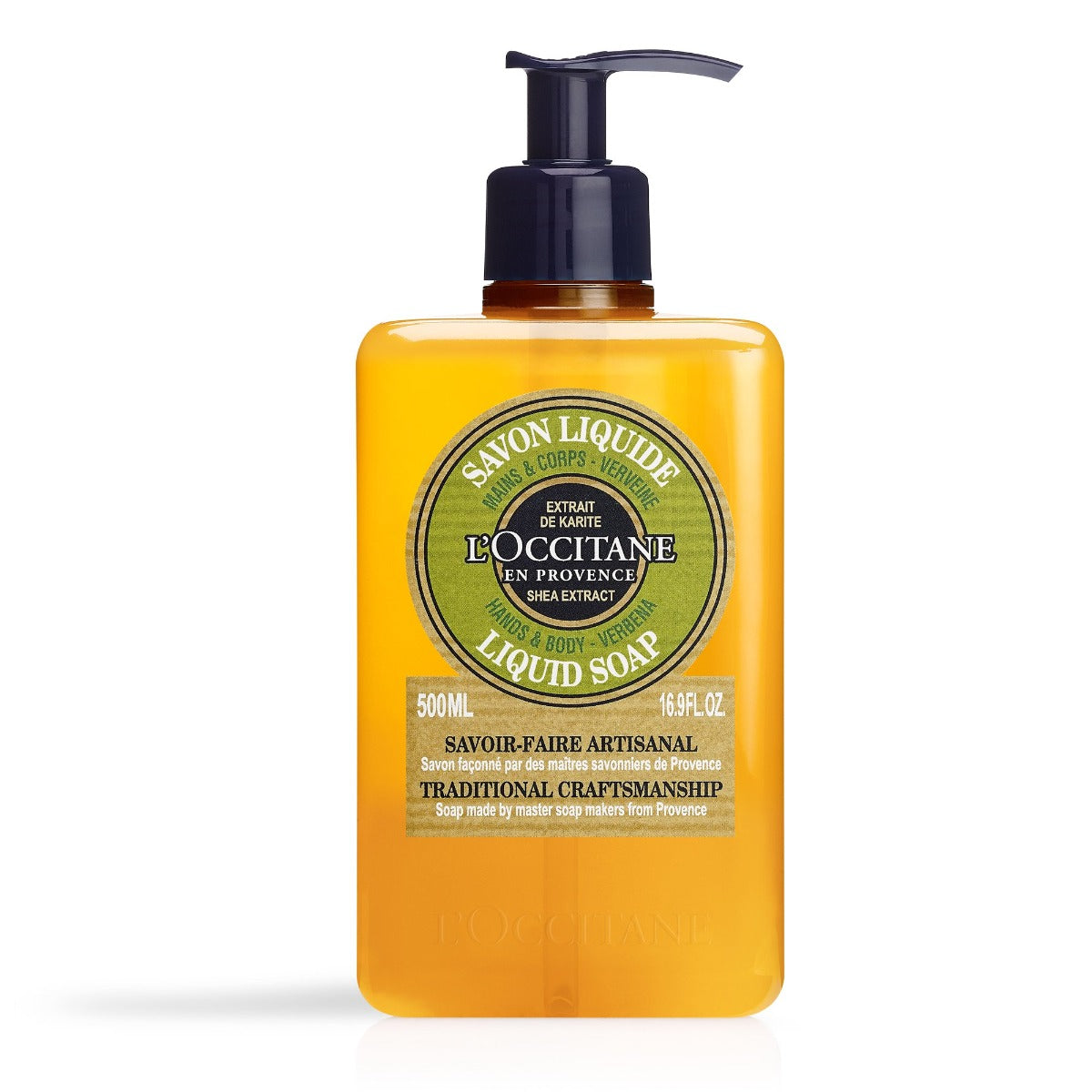 L'Occitane Shea Verbena Hands & Body Liquid Soap 500ml