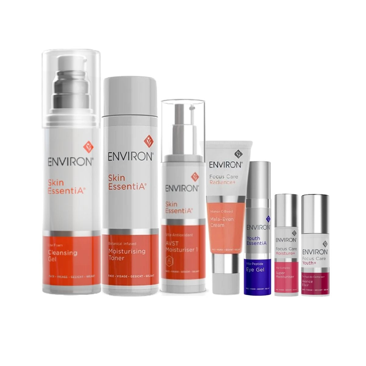 Environ Skin EssentiA Value Bundle with Cleansing Gel