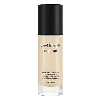 Bare Minerals Bare Pro Performance Wear Liquid Foundation SPF20 In Salon
