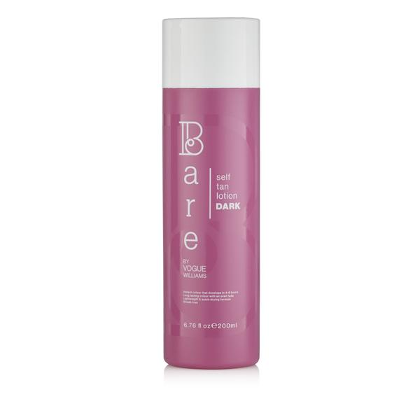 Bare By Vogue Self Tan Lotion Dark with FREE Tanning Mitt