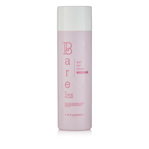 Bare By Vogue Self Tan Lotion Medium with FREE Mitt