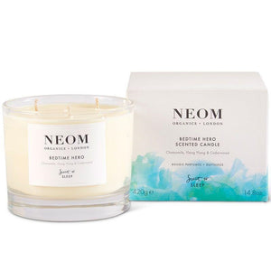 Neom Scent to Sleep Bedtime Heroes Candle 3 Wick