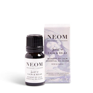 Neom Scent To Calm & Relax Moment Of Calm Essential Oil Blend